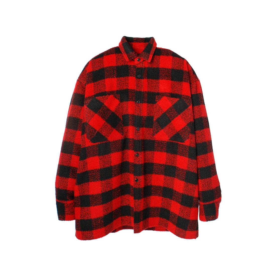 RED CHECK BIG SHIRT