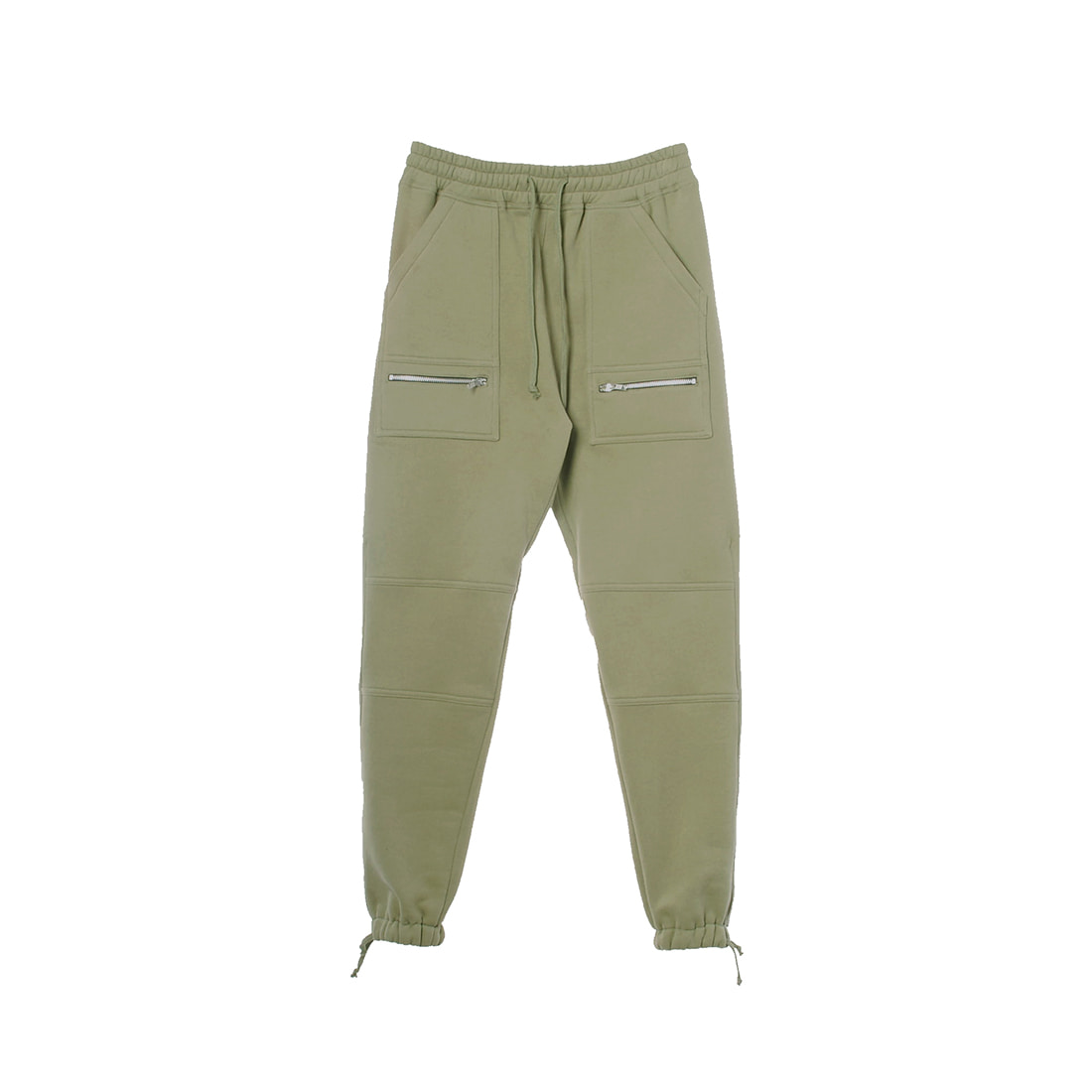 KHAKI STRING JOGGER PANTS
